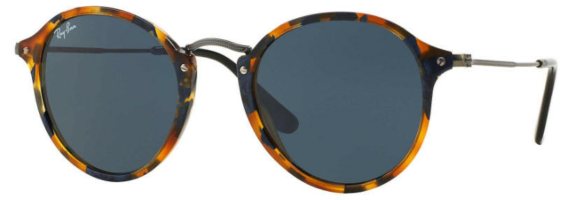 92f5ba439f Details about Ray Ban Round Fleck Tortoise Black Green G-15 RB2447 1158R5 49 -21