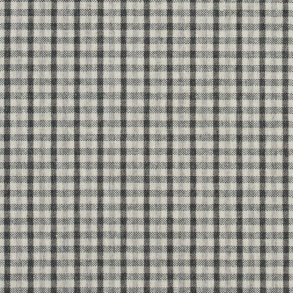 Essentials Gray White Plaid Upholstery Fabric Sterling Check Ebay