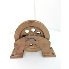 BRONZE PULLEY Vintage Collectible Antique   BEST OFFER!