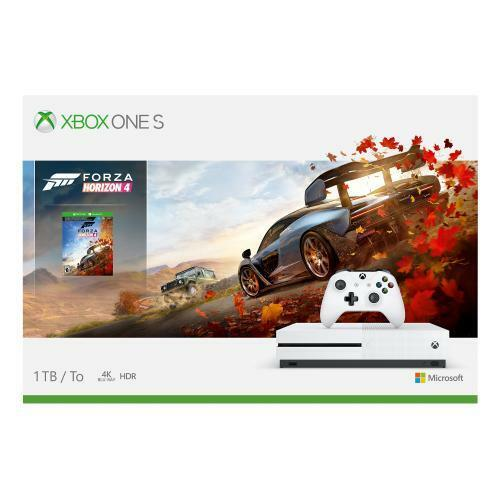 Xbox One S 1TB Forza Horizon 4 Console Bundle - Full-game download included