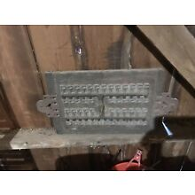 Vintage Industrial Wood Foundry Mold Art Steampunk Man Cave Decor