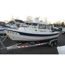 2006 C-Dory c dory 22 Cruiser Pilot House fishing boat Clean Title LOW RESERVE