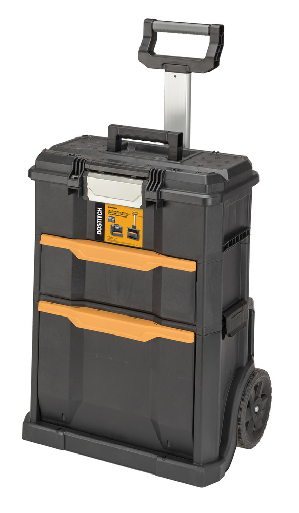 Rolling Tool Box, Portable Durable Black Home Indoor ...