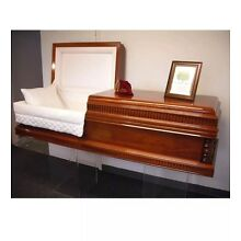 JEWISH & Non Demonational CASKETS SOLID WOOD FROM ISRAEL