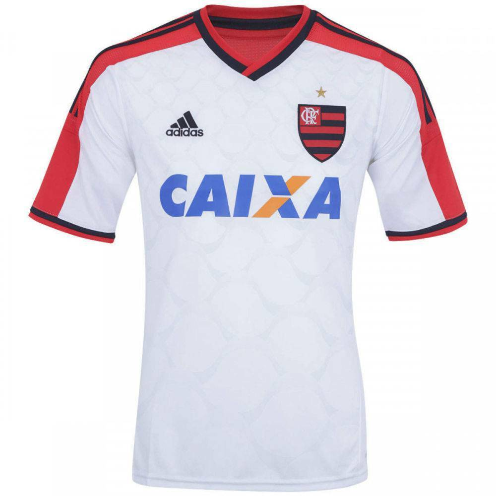 a1af842012 Details about CR Flamengo White Jersey - Adidas Authentic
