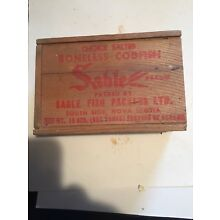 Sable Brand Codfish Box