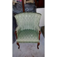 Vintage Green Living Room Chair 1960's