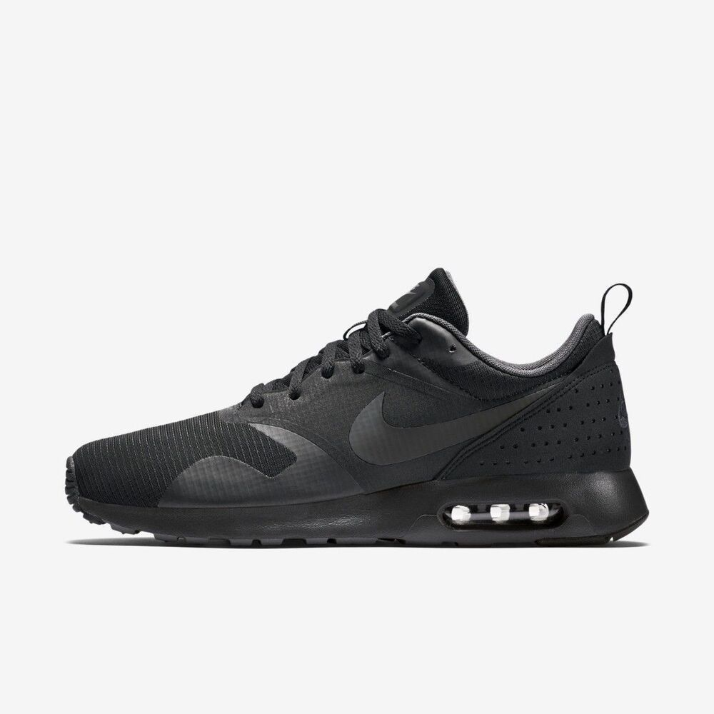 online store e52fd d090c Details about Nike Air Max Tavas 705149-010 Black Anthracite Mens  Sportswear Running Shoes