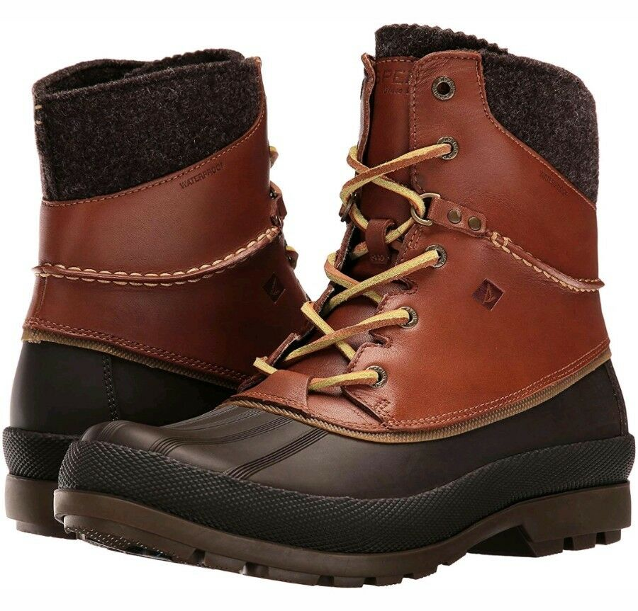 Sperry Cold Bay Sport Duck Boots, Vibram Arctic Grip