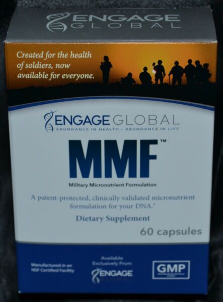 Military Micronutrient Formulation Engage Global Dietary Supplement 60 Capsules