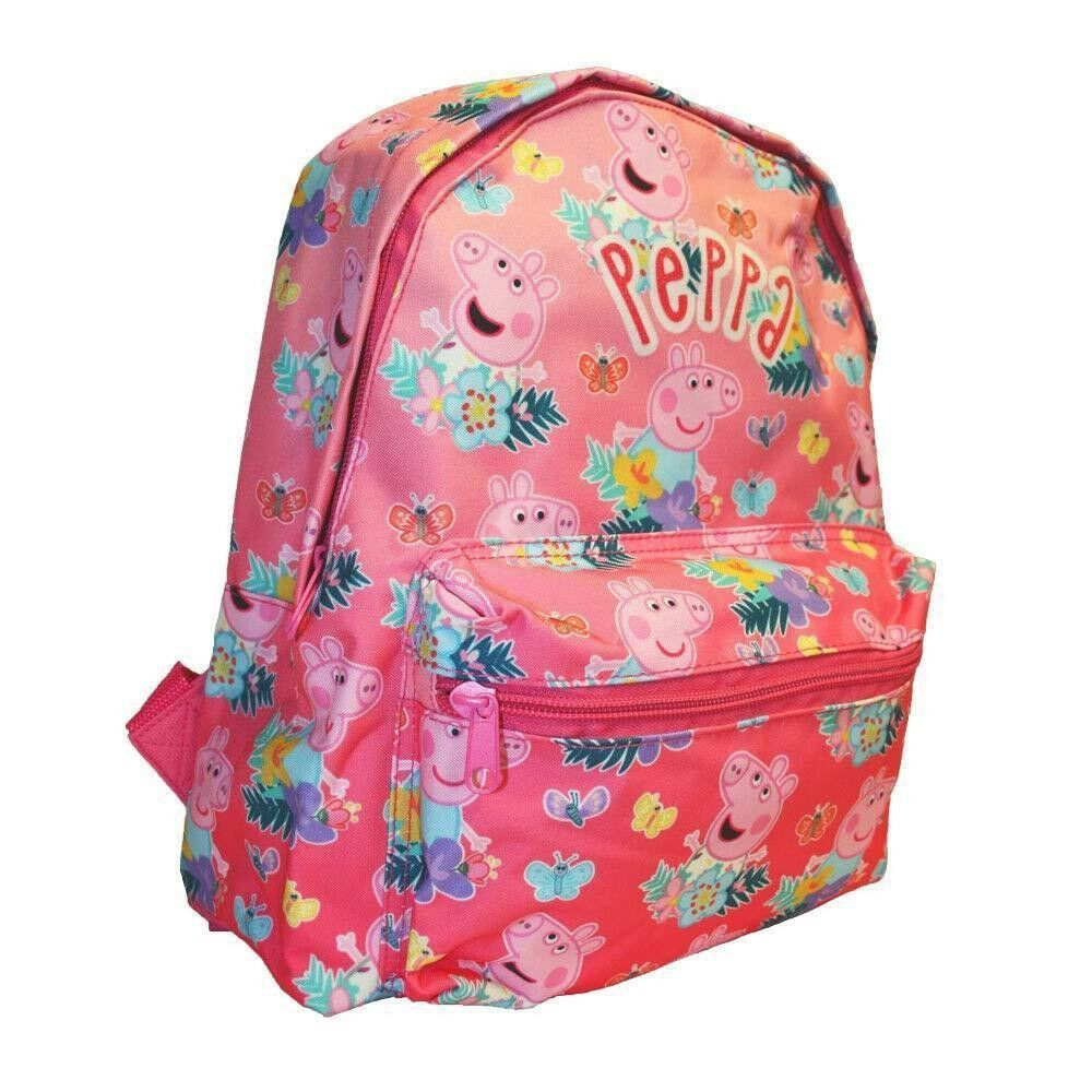 25a2a8a5d839 Details about Peppa Pig Beautiful Nature Mini Roxy School Bag Rucksack  Backpack Brand New