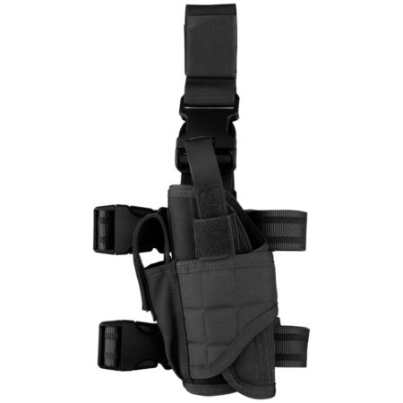 img-Condor Tornado Left Handed Leg Holster Tactical Security Police Airsoft Black