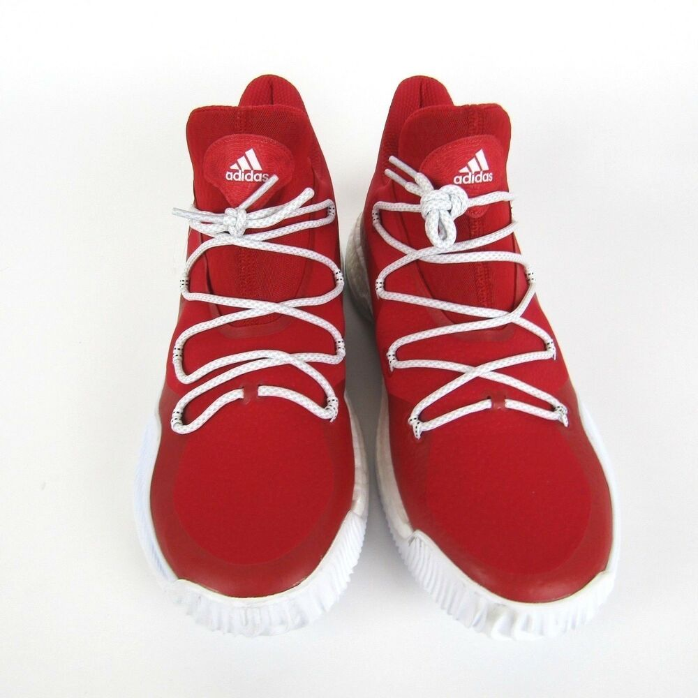 newest ce959 7751e Details about New Adidas Men s 14 Crazy Explosive Low NBA Red White  Basketball Shoes BY3251
