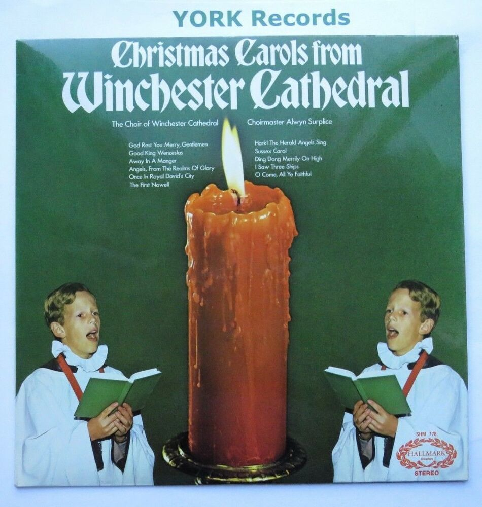 Details About CHRISTMAS CAROLS FROM WINCHESTER CATHEDRAL