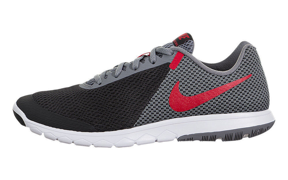 41c73e721cc0 Details about Nike Flex Experience RN 6 Black Grey Red White 881802-011  Men s Running Shoes