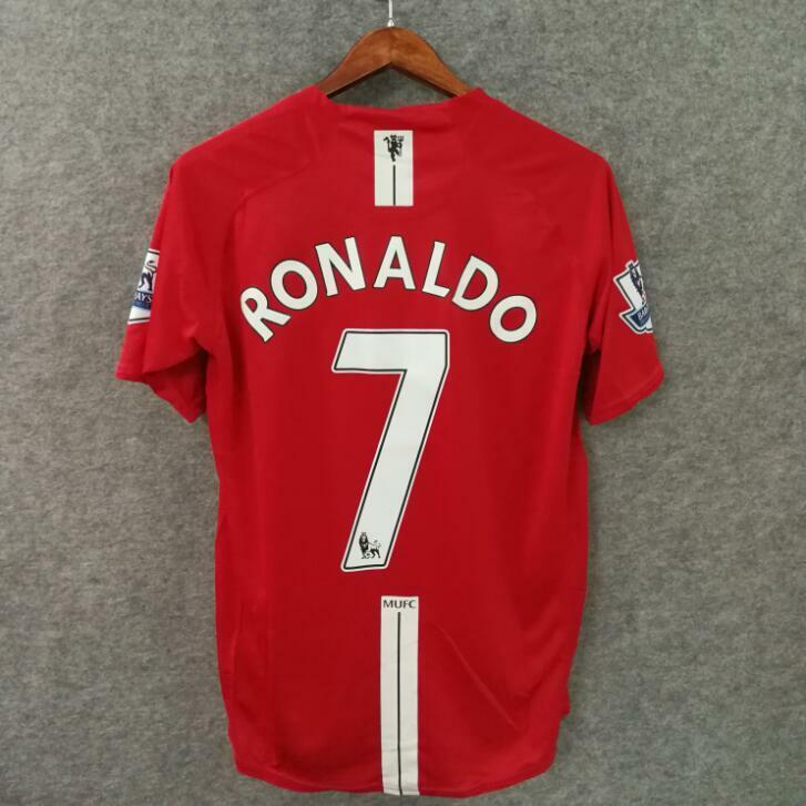 dfede0bae8 Details about Ronaldo Manchester United 2007 Jersey  7
