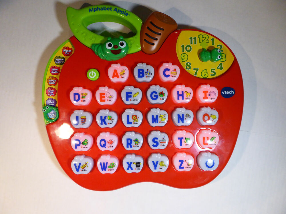 Vtech Alphabet Apple Interactive Electronic Learning ...