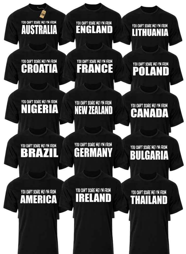 3d70a0222 Details about Country T-shirts Mens Funny Novelty Country Flag Joke Rude  Gifts Presents Ideas