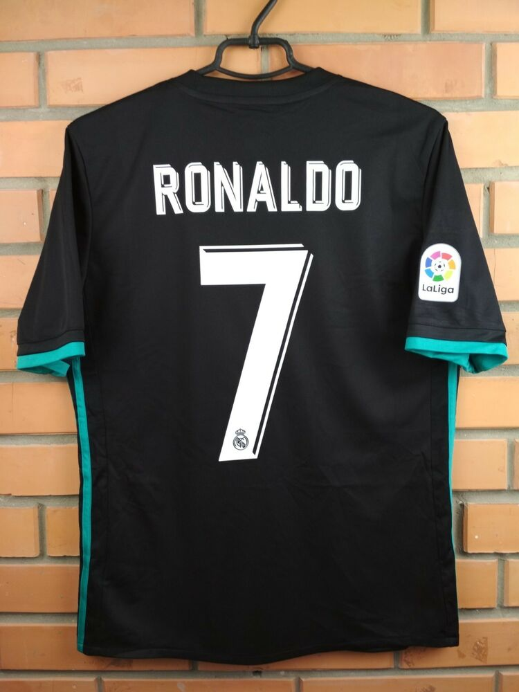fb72e1a90 Ronaldo Real Madrid kids jerseyy XL 2018 away shirt B31092 soccer Adidas