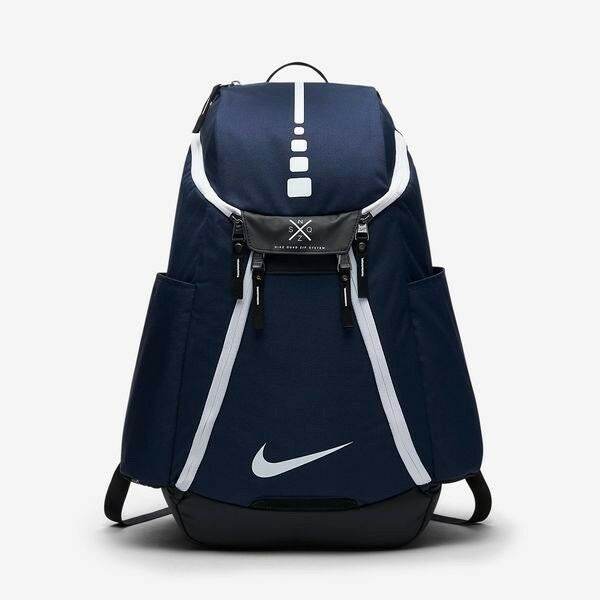 9fe54cff7dc1 Details about Brand New Nike Hoops Elite Max Air Team 2.0 Basketball  Backpack BA5259-410 Navy