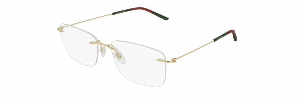 93314780c4 Details about  NEW AUTHENTIC  GUCCI GG0399O 002 GOLD EYEGLASS FRAME