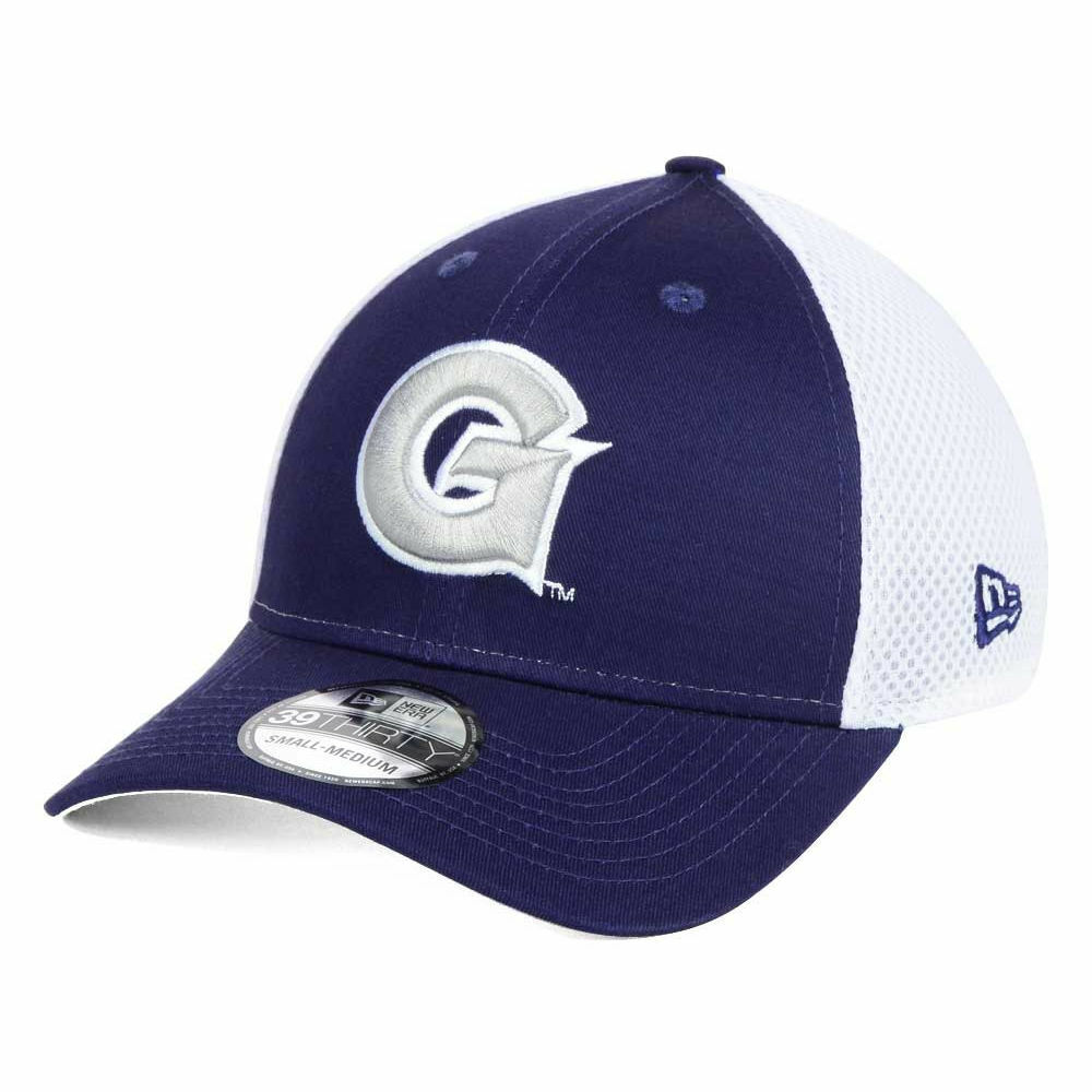 new products dce54 8fb3f ... promo code for details about georgetown hoyas new era ncaa neo 39thirty  mesh cap hat university