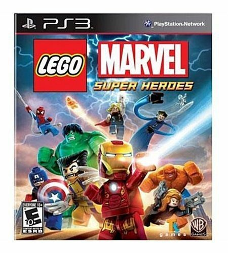 LEGO Marvel Super Heroes (Sony PlayStation 3, 2013) New, sealed
