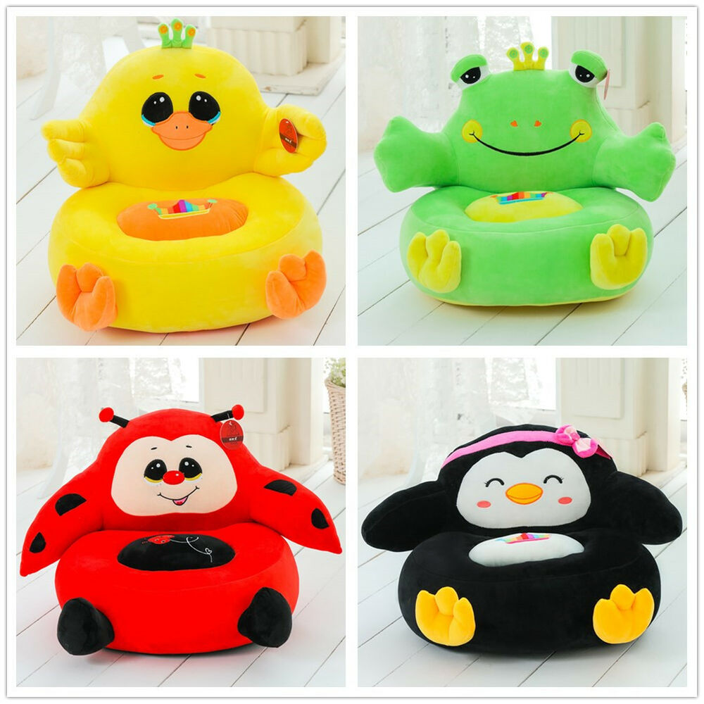 Stuffed Animal Plush Toy Cartoon Bean Sofa Chair Child