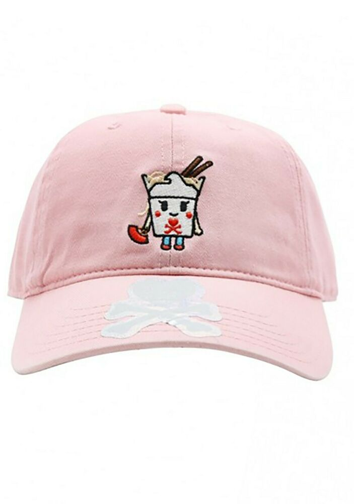 9bbef31af5c Details about NEW TOKIDOKI Take Me Out Adjustable Dad Hat in Pink - SALE