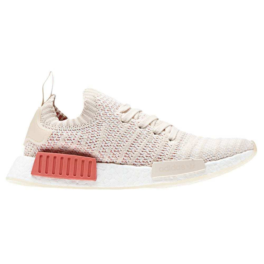 new product 701f2 180a7 Details about Adidas NMD R1 STLT Primeknit Women s (Size 7.5 - 10.5) Linen  White Boost CQ2030