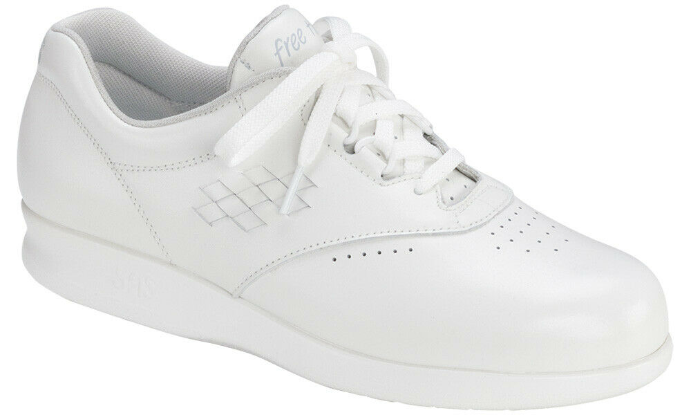 d8c4b5f6926b Details about SAS Women s Shoes Free Time White 8 Wide W FREE SHIPPING  Brand New In Box Save
