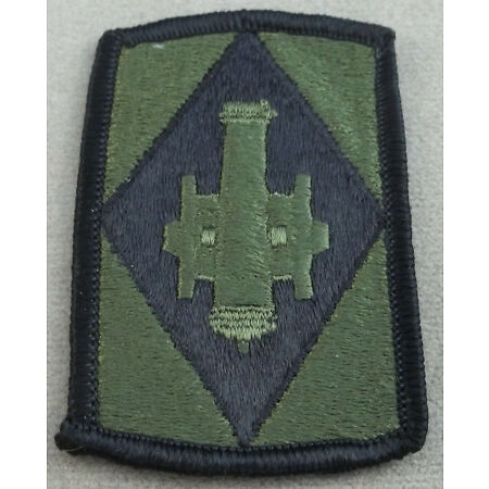img-US Army 75th Field Artillery Brigade Subdued Merrowed Edge Patch