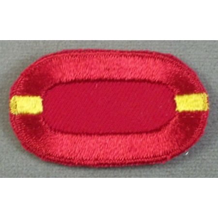 img-US Army 320th Air Defense Artillery 1st Battalion Airborne Oval Cut Edge Patch