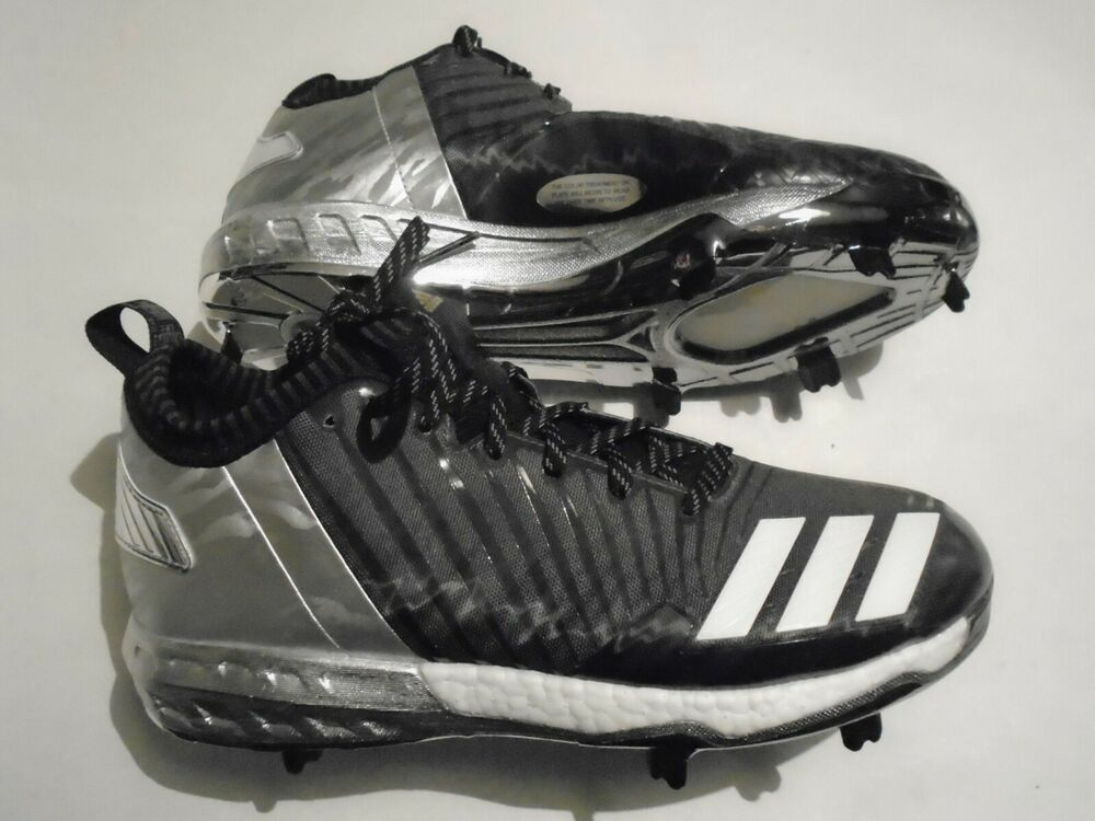 huge discount a7267 f1c7a New Adidas Boost Icon 3.0 Faded Men s Size 11 Metal Baseball Cleats Black  BY3684   eBay
