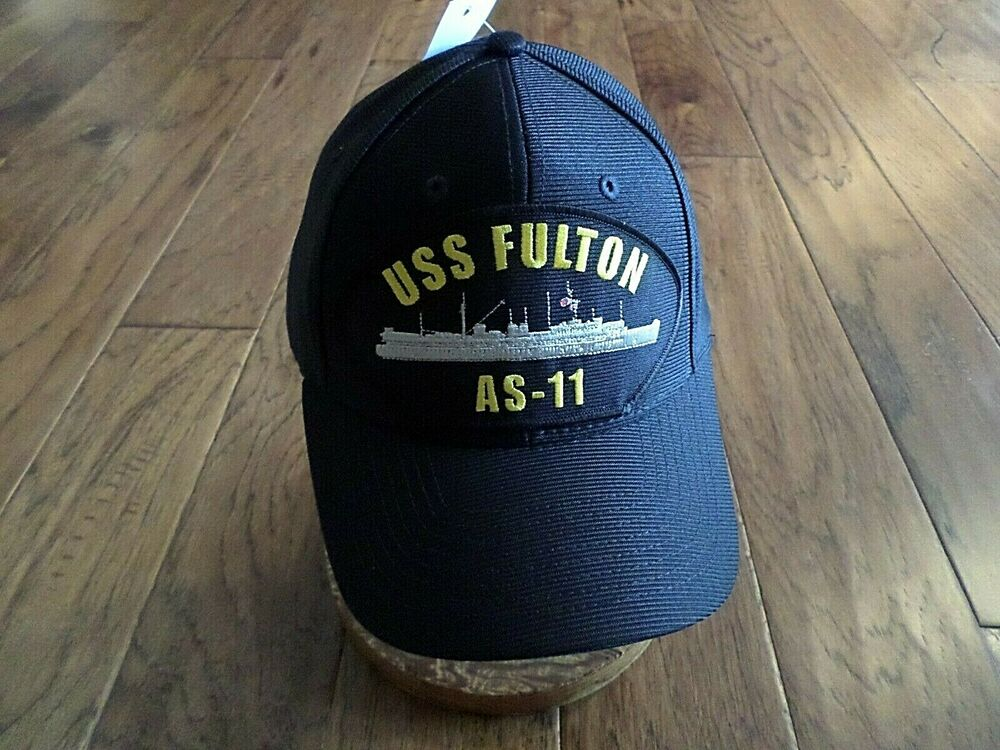 Details about USS FULTON AS-11 U.S NAVY SHIP HAT U.S MILITARY OFFICIAL BALL  CAP U.S.A MADE c15f4882ddb