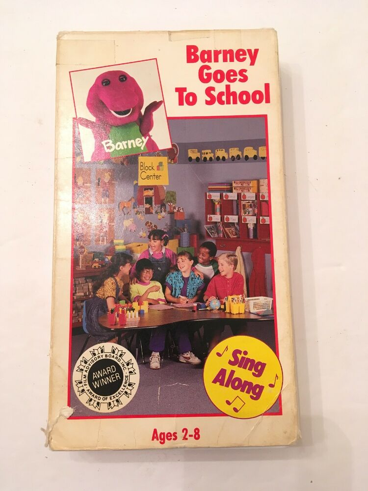 1990 Barney And The Backyard Gang: Barney Goes To School ...