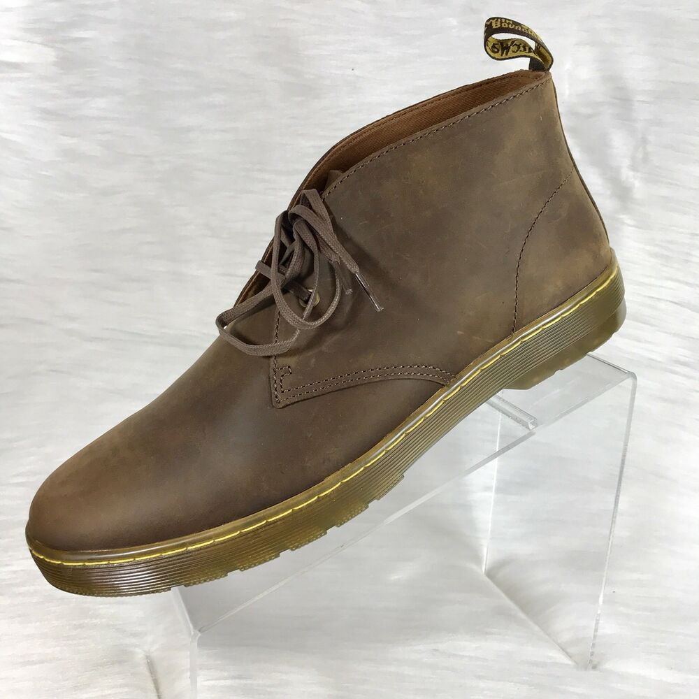 official photos a2fb4 b7ca3 Details about Dr. Martens Mens Cabrillo Chukka Boot Gaucho Brown Size 13  UK 47