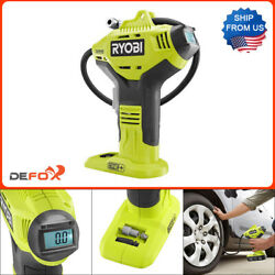 Kyпить Ryobi Cordless Inflator 18V Digital Air Compressor Portable Tire Pump TOOLY ONLY на еВаy.соm