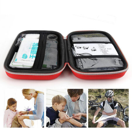img-Outdoor First Aid Kit Survival Medical Bag Pouch Treatment Case Emergency Dekor