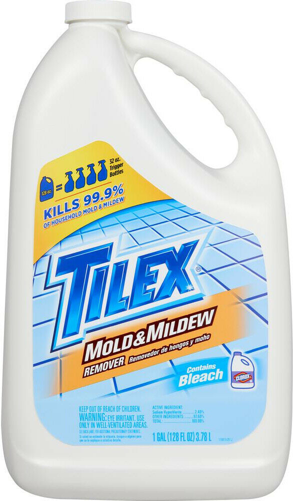 Details About Mold Remover 128 Oz Mildew Moss Algae Stain Liquid Cleaner Refill Bottle