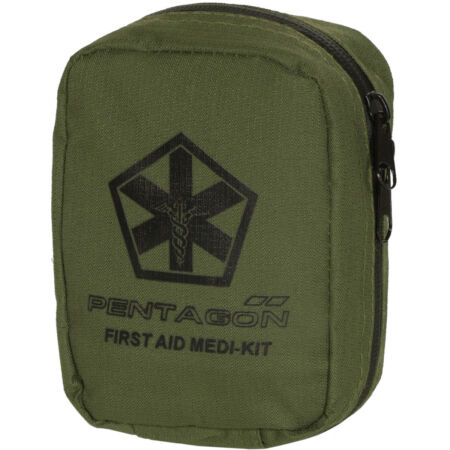img-Pentagon Hippokrates First Aid Kit Survival Tactical EMT Carry Pouch Olive Green