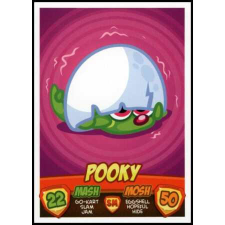 img-Pooky - Moshi Monsters Mash Up! Series 2 Topps 2011 Trade Card (C2596)