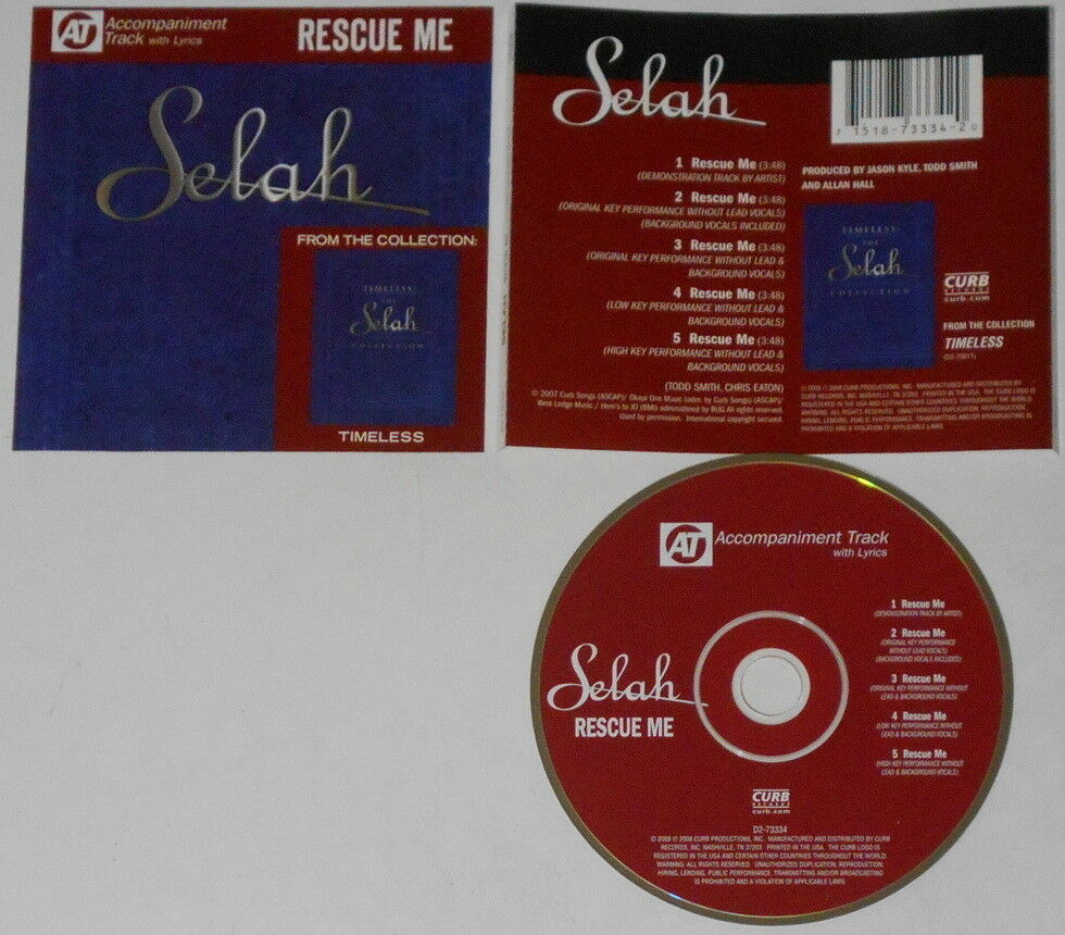 Selah Rescue Me x5 U S  promo cd hard-to-find | eBay