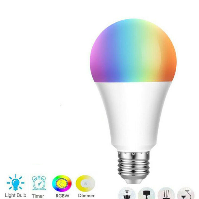 E27 WiFi Smart Bulb Home Voice Remote Control Bulb Multi