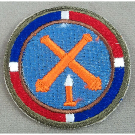 img-Army Of The Dominican Republic Artillery Unit Cut Edge Patch