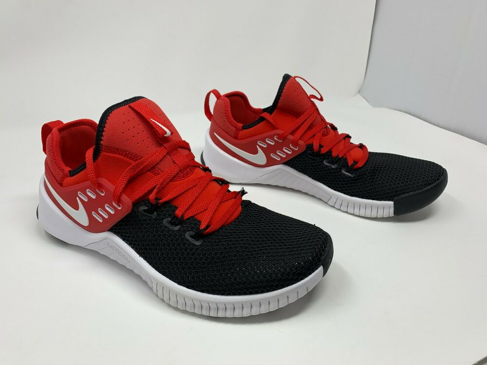02b3ff616550 Details about Nike Free Metcon Training Crossfit Red   White  Black Sz 14 AH8141  600 NOBOXTOP