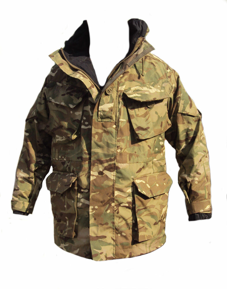 d9ed6df9f8098 Details about MTP Combat Waterproof Smock Jacket MVP Material British Army  180/96 [13173]