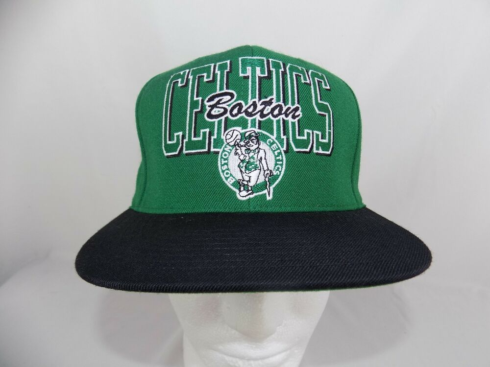 104ed2eefe1b3 Details about Boston Celtics Mitchell   Ness NBA Cap Hat Snapback Hardwood  Classics