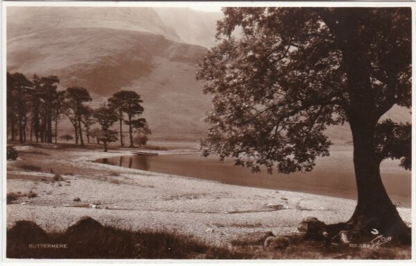 Atmospheric View, BUTTERMERE, Cumberland - Walter Scott RP