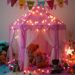 Kyпить Kids Princess Play Tent In/Outdoor Fun Toy Girls Fairy Castle House w/LED Light на еВаy.соm